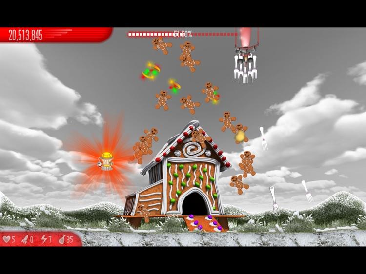 Chicken Invaders 5 Xmas HD screenshot-4