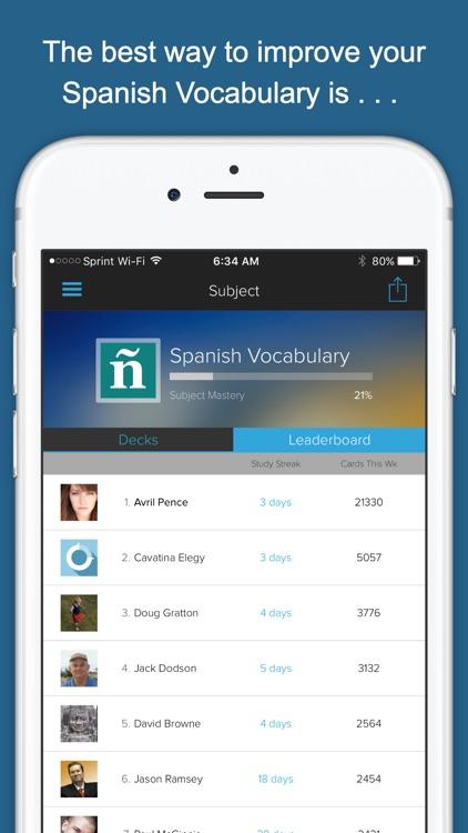 Spanish Vocab Genius screenshot-3