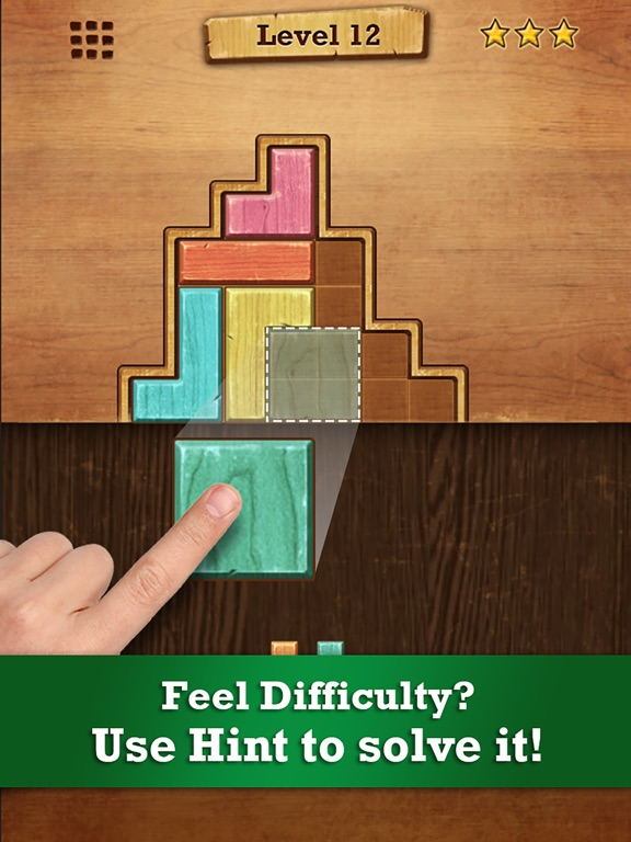 Wood Block Puzzle для iPad