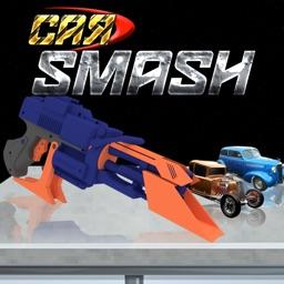 Toy car smash - Shoot nerf gun