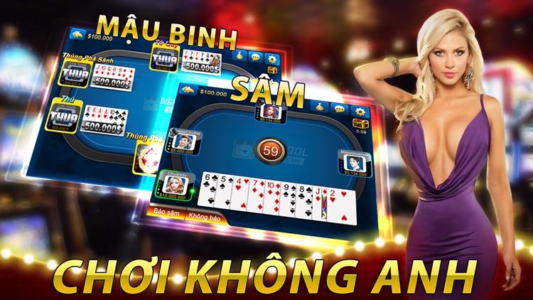 BigKool-Game bài Tiến lên Sâm Phỏm Mậu Binh Online