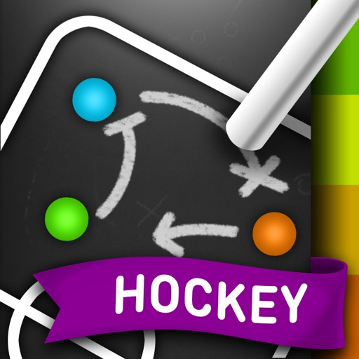 CoachNote Hockey & Ringette ( Ice , Field, Under Water ): Sports Coach's Interactive Whiteboard