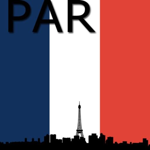 Париж Карта
