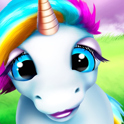 Baby Unicorn Run - Magical Newborn Horse