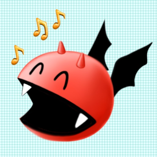 Alfie the Demon Emoji Stickers for Messages