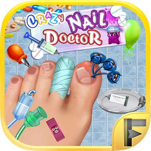 Crazy Toe Nail Doctor Surgery - Free Kids Games iOS App