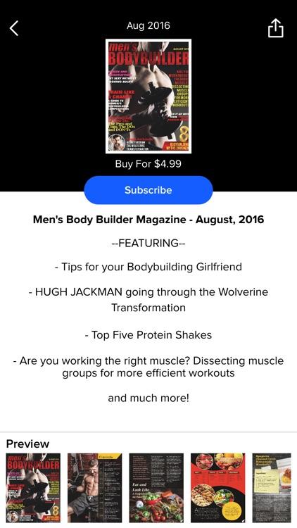 Men's Bodybuilder Mag