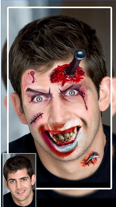 Zombie Booth Face Changer : Make Me Zombie HD screenshot one