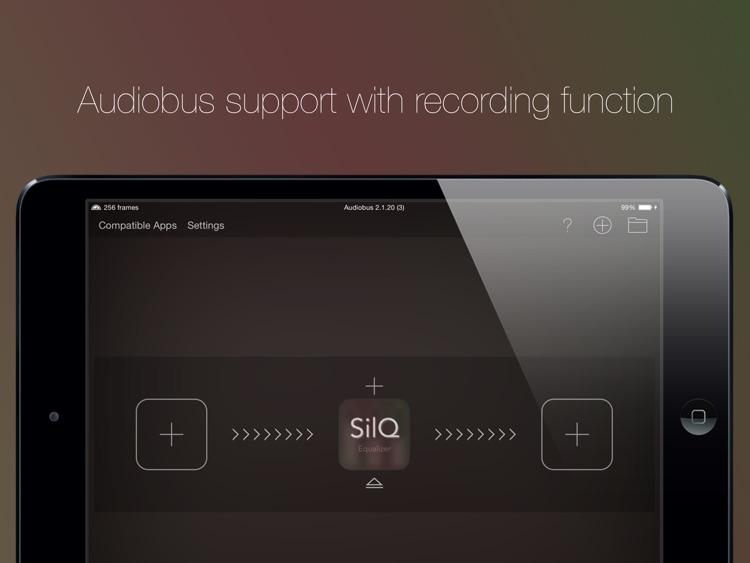 SilQ Equalizer - 32 Band Stereo Equalizer screenshot-3