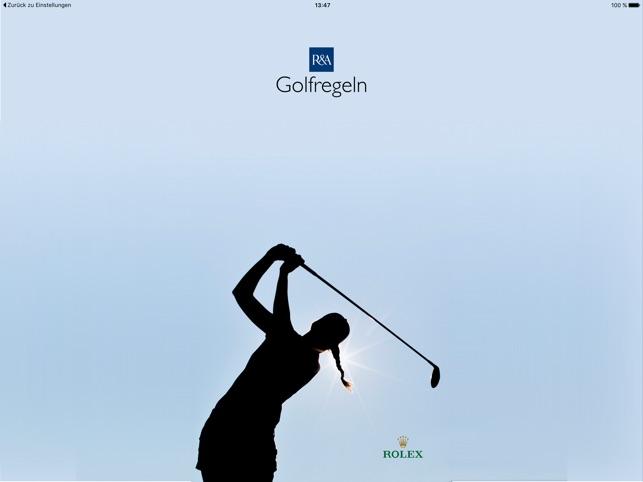 Golfregeln Entfernungsmesser : Golfregeln im app store