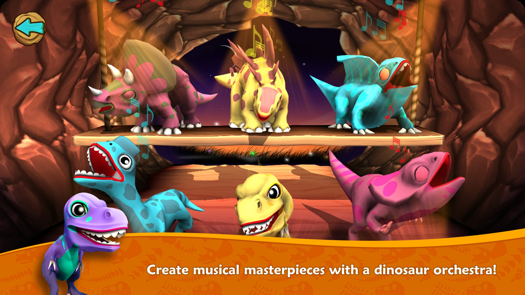 Dino Tales Jr – storytelling for young minds Screenshot