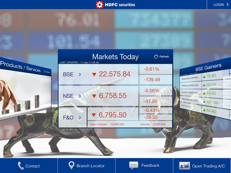 HDFC securities screenshot-0