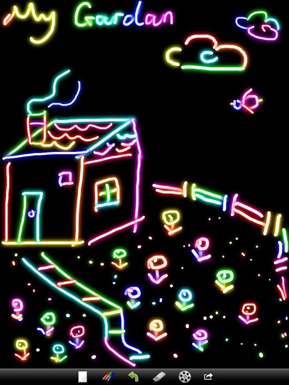 Kids Doodle - pебенок цвет рисунок & видео на iPad