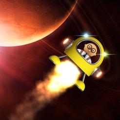 Lander hero videogiochi con astronauta su app store