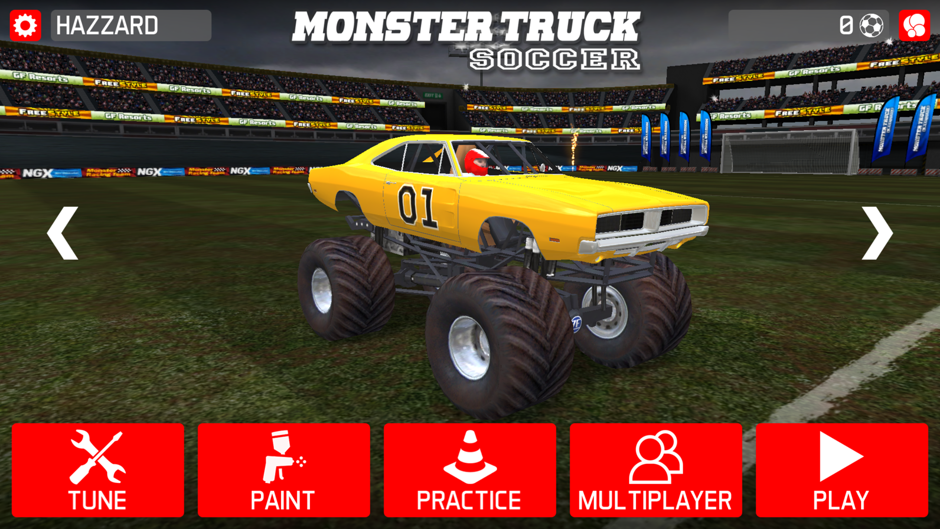 Monster Truck Soccer screenshot 11