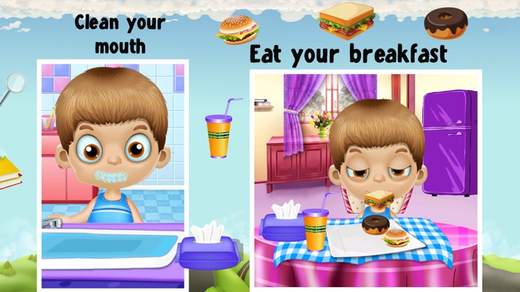 Welcome Back To School Game For Kids & Toddlers screenshot-3