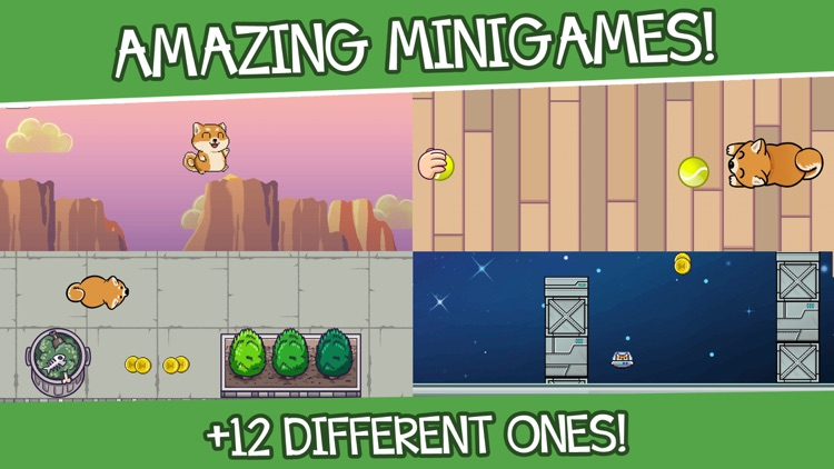 Shibo Dog-Virtual Pet Minigame