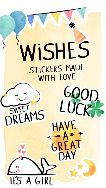 I wish you ...