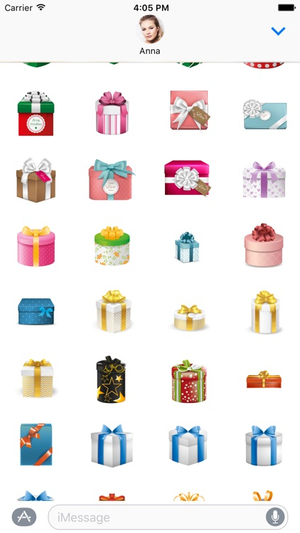 Gifts Sticker Pack for iMessage