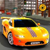 Real Crazy taxi driver 3D simulator free 2016: Drive sports cab in