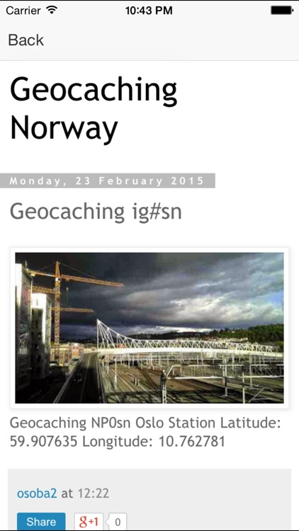 Geocaching Norway screenshot-2
