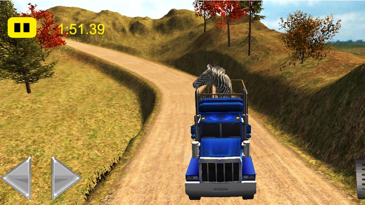 Animals Transport Truck Driver Simulator 2016 screenshot-3