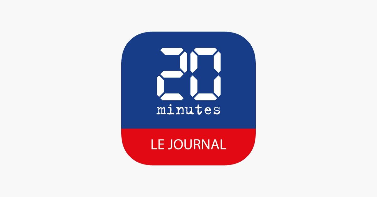 20 minutes le journal dans l app store. Black Bedroom Furniture Sets. Home Design Ideas