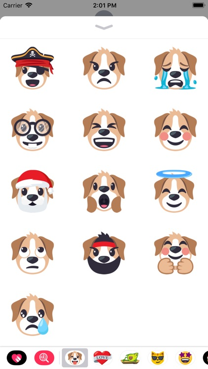 Dog Pack by EmojiOne screenshot-3