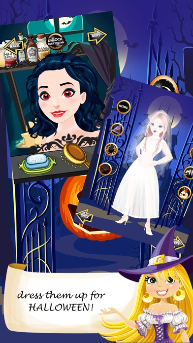 Halloween Salon Spa Makeover Doctor Game Screenshot on iOS