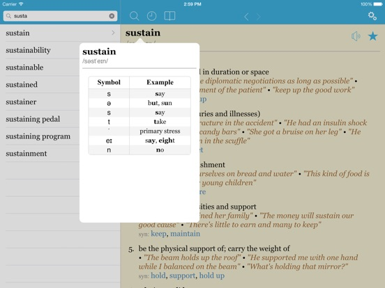 Screenshot #3 for LexicEN Lite English