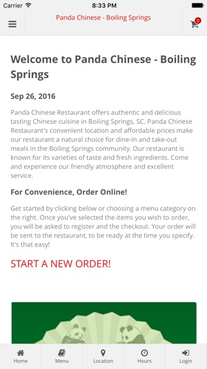 Panda Chinese Boiling Spring Im App Store