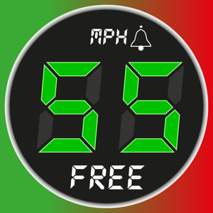 Speedometer Free Speed Limit Alert + GPS Black Box Navigation app