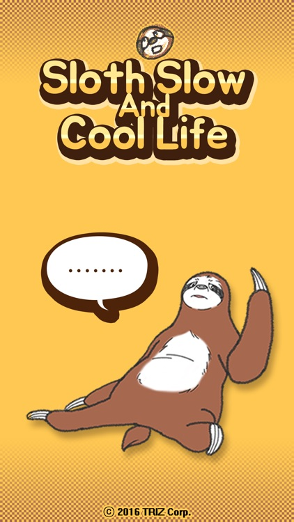 Sloth Slow and Cool Life