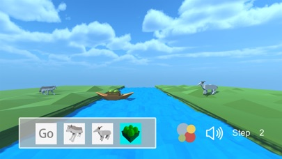 Crossing the river -A casual strategy game screenshot two