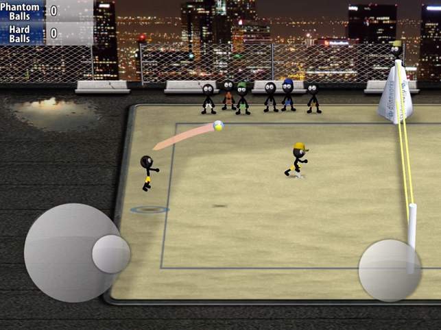 ‎Stickman Volleyball Screenshot