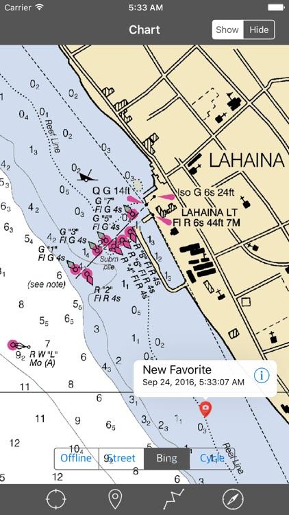 Maui – Raster Nautical Charts screenshot-3