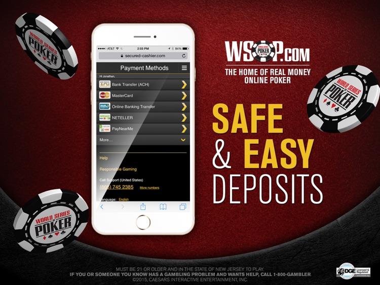 WSOP Real Money Poker NJ screenshot-3