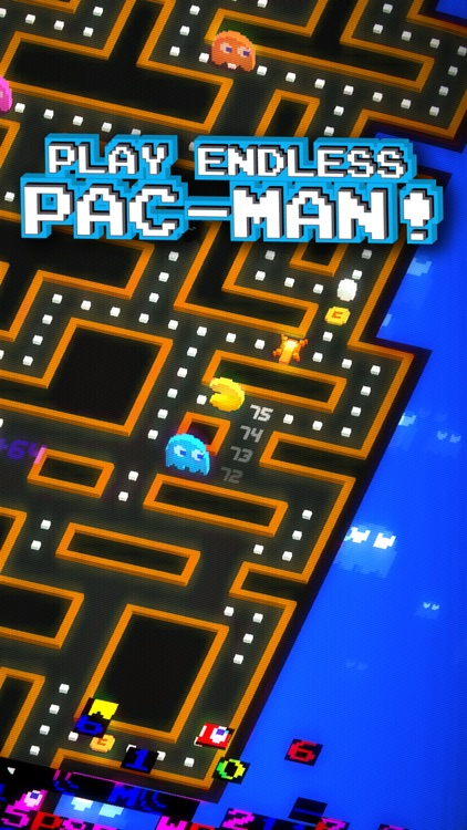 PAC-MAN 256 - Endless Arcade Maze screenshot-0