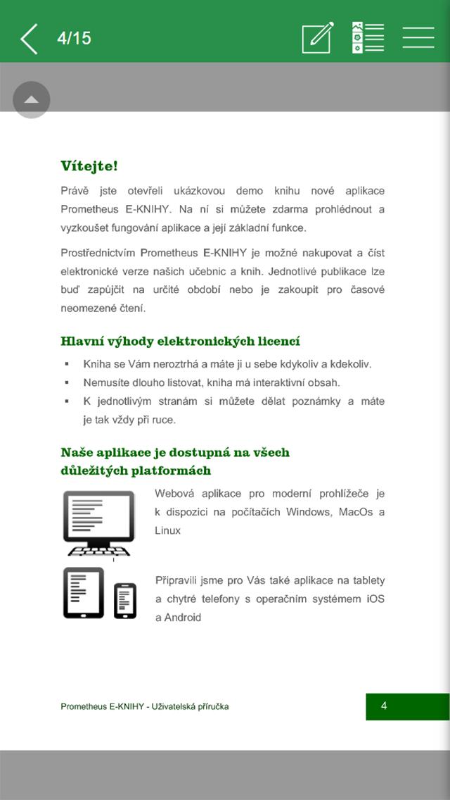 Prometheus E-KNIHY screenshot one