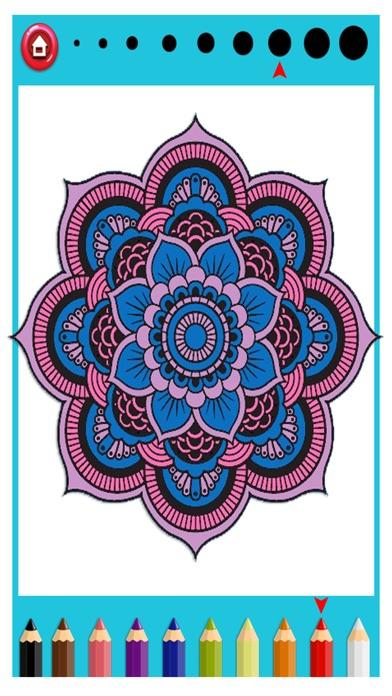 Screenshots Mandala Coloring For Adults
