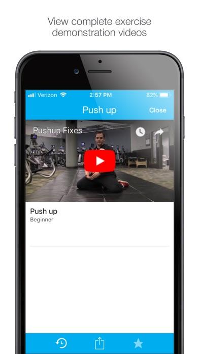 Screenshot of Body Effect Workouts App
