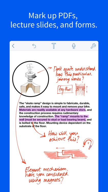 Notability app image