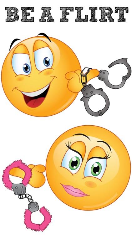 Flirty Emoji Stickers