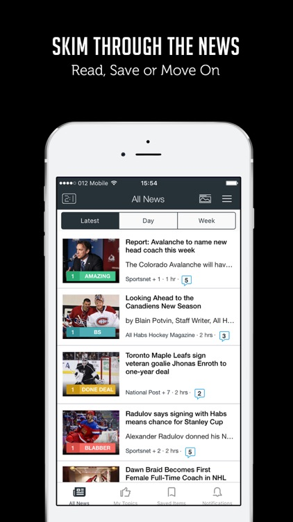 Sportfusion - Hockey News, Live Scores, Standings & Videos for NHL screenshot-3