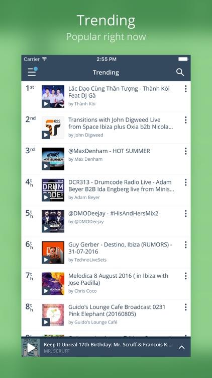 Mixcloud - Radio & DJ mixes screenshot-3