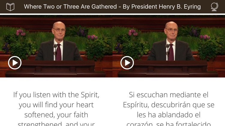 34 Language LDS General Conference SideBySide