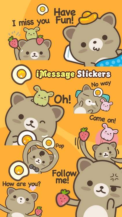 Strawberry Cat Pro - Cute Stickers by NICE Sticker screenshot-4