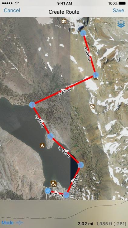 Gaia GPS Classic screenshot-4