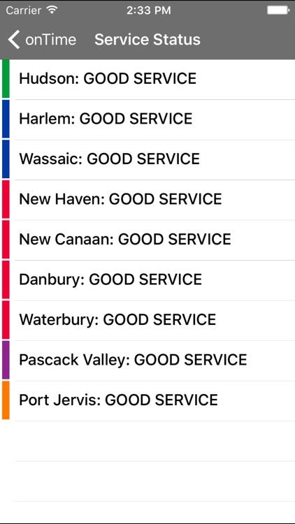 onTime : MNR (Metro North Rail) screenshot-3