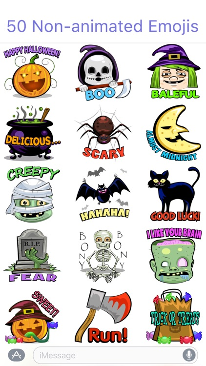 HallowMoji - Fun Halloween Emojis screenshot-3
